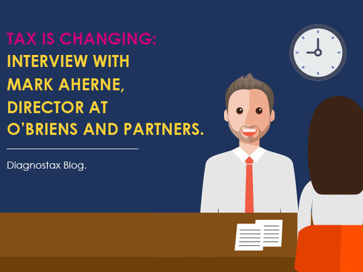 Tax is Changing: Interview with Mark Aherne