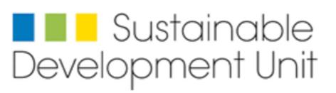 Sustainable Development Unit