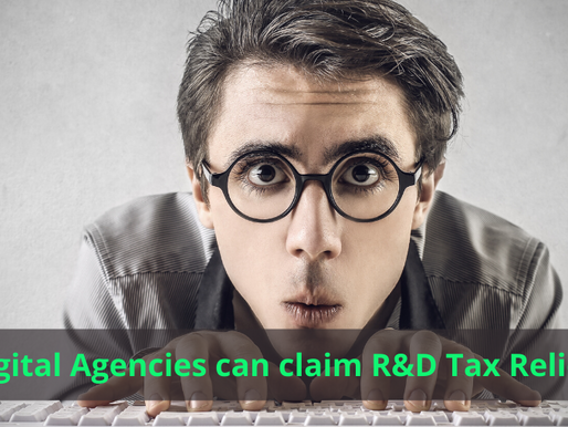 Digital Agencies can Claim R&D Tax Relief