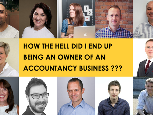 How the hell did I end up being an owner of an accountancy business?