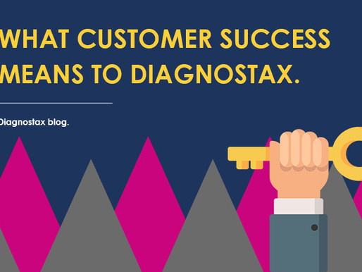 What is customer success to Diagnostax