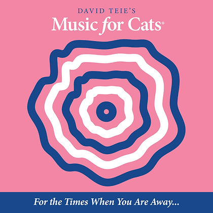 """4 CD Set of Music for Cats Album One """"For the times when you are away..."""""""