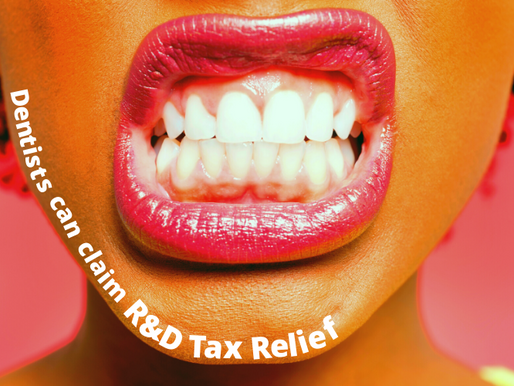 Dentists can claim R&D Tax Relief