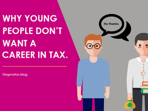Why young people don't want a career in tax.