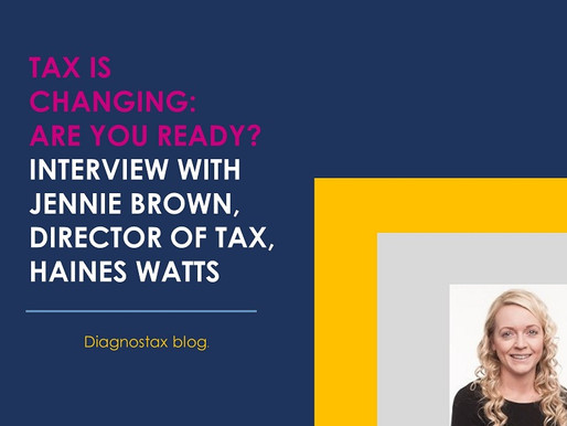 Interview with Jennie Brown: How tax is changing
