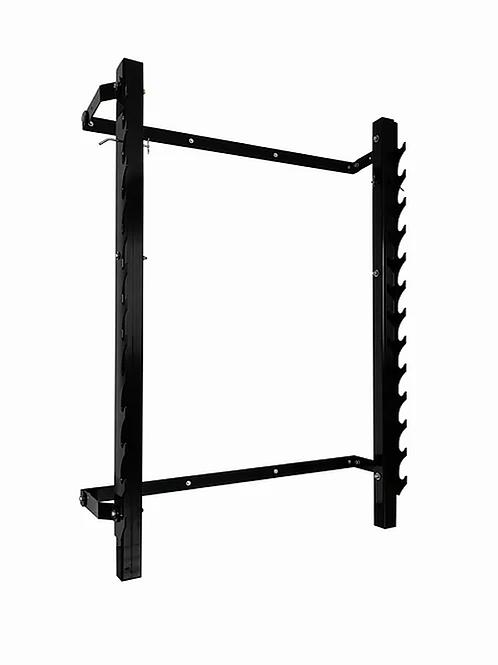 Folding Squat Rack Wall Mounted