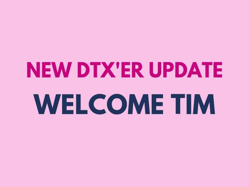 New DTX'er update: Tim Johnson CTA