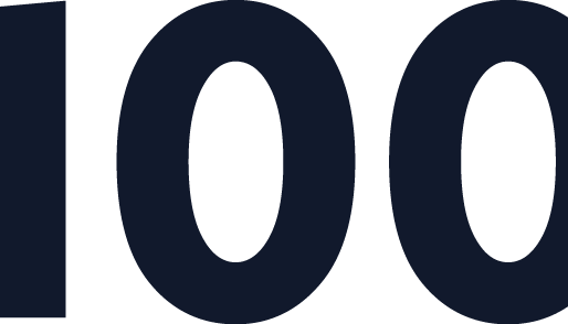 What does 100 customers equal?