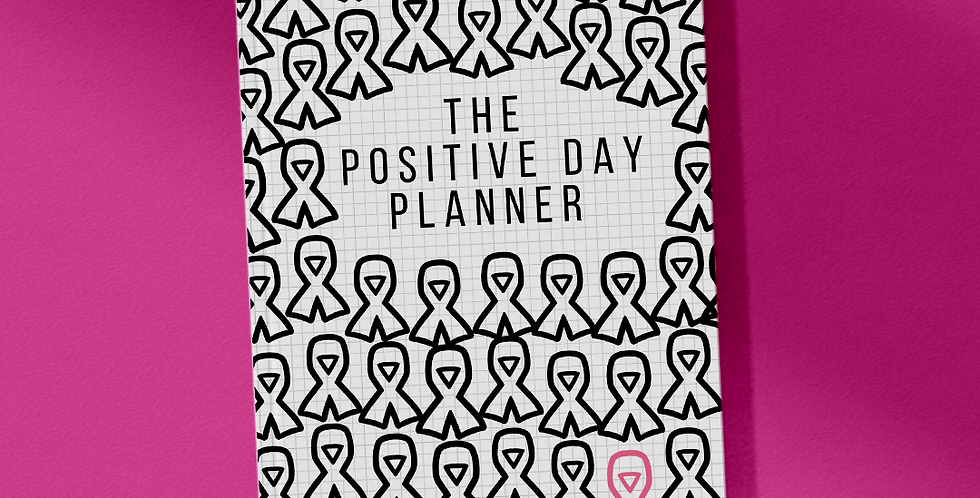 My Journey Limited Edition Breast Cancer Awareness Month 21-Day Planner