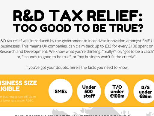 R&D Tax Relief: Too Good to be True?