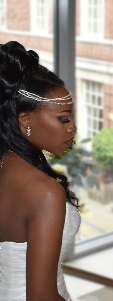 Bridal_Hair_Bun_half_updo_with_extension