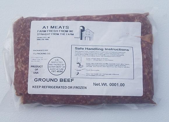 GROUND BEEF.             1 # pkg