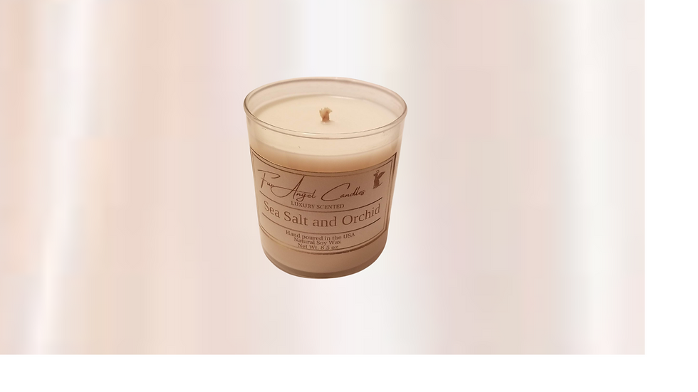 Luxurious Soy Candle 8 oz. W/ Copper Top