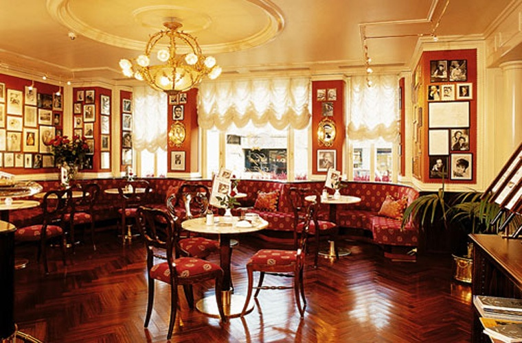 Cafe Sacher Wien Dining Room