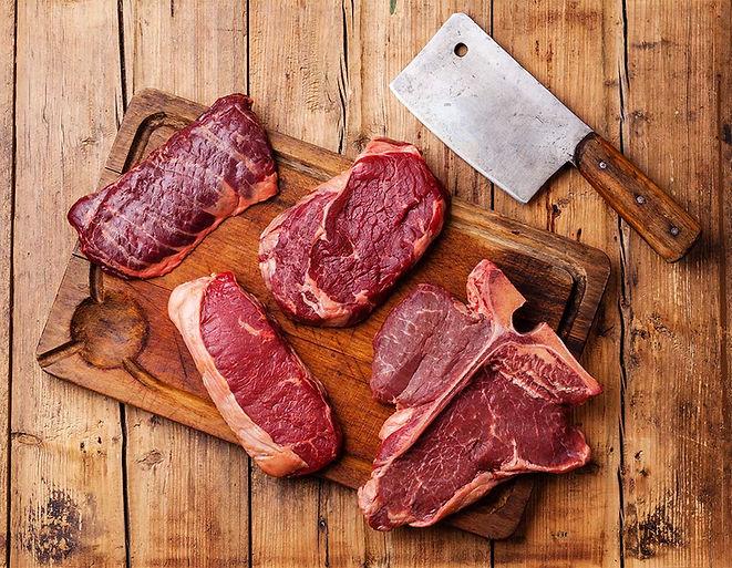 Steaks delivered to your door