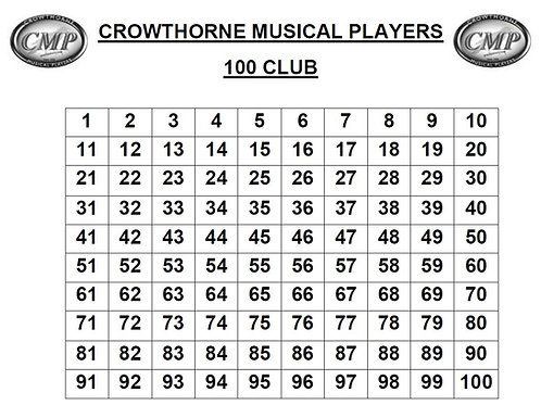 CMP One Hundred Club Square Number 15