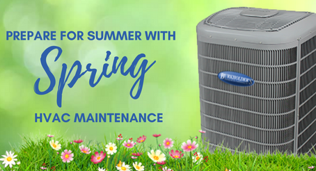 Spring Cleaning for Your HVAC Systems