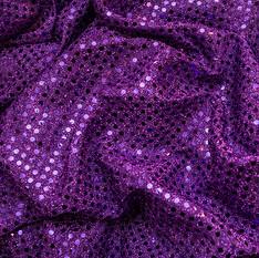 Purple Flat Sequin
