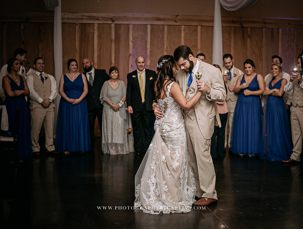 Couple's first dance