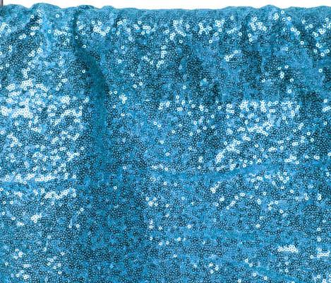 Aqua Blue Regular Sequin