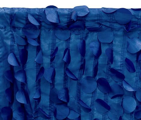 Navy Blue Petals