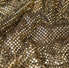 Gold Flat Sequin