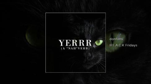 "Donfons - Yerrr (A ""Nah""verb) ft. Amani O+"