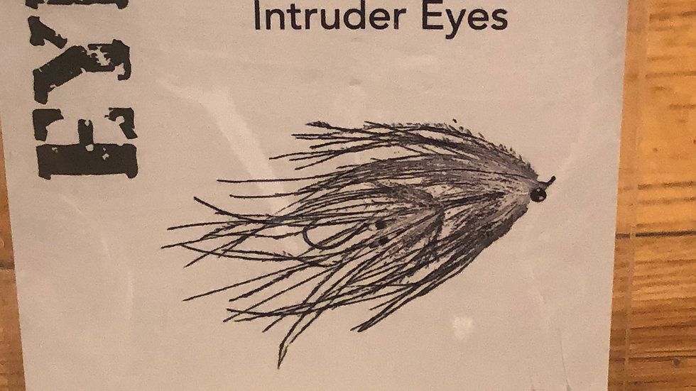 Aqua Flies Intruder Eyes / Chartruese