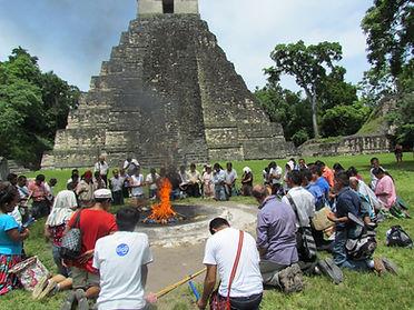 Ruud van Akkeren visiting Tikal