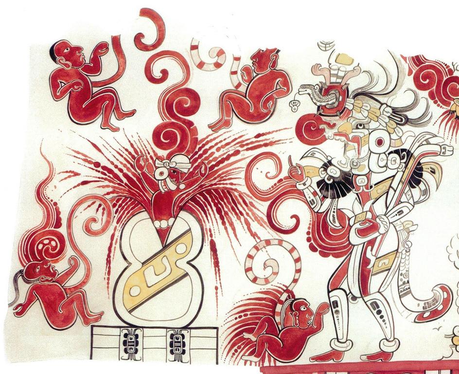 Artwork Debra Atenea Díaz Zúñiga, adapted from Heather Hurst (2015). In Valores plástico-formales del arte maya del Preclásico tardío a partir de las configuraciones visuales de San Bartolo, Petén, Guatemala, Sanja Savkic (2016). Courtesy of Sanja Savkic.