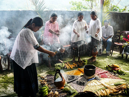 Q'eqchi' maize-sowing ritual (mayejak)