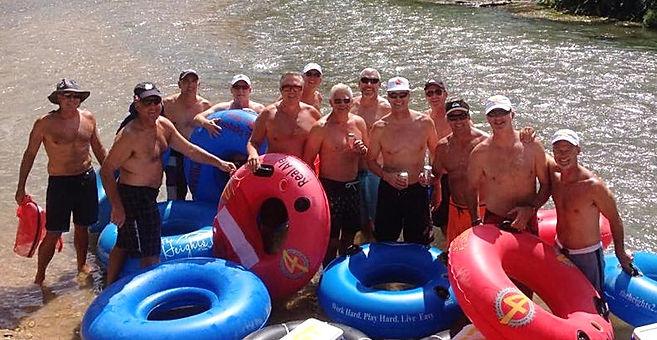 River Float Tubing in Austin TX