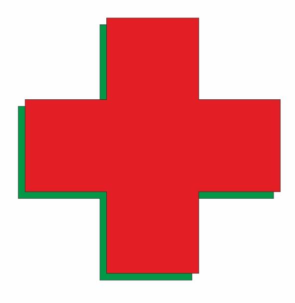 Световой крест 7000р