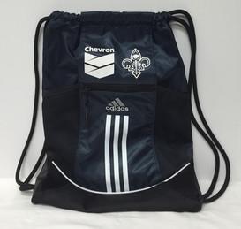 Chevron New Orleans Pelicans Adidas Drawstring Bag
