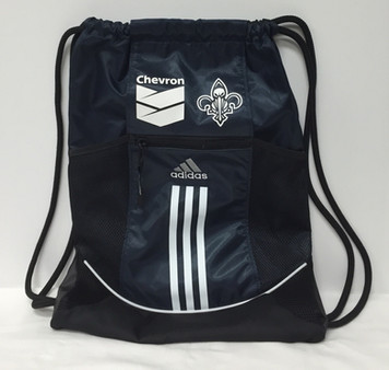 Chevron New Orleans Pelicans Adidas Drawstring Bag
