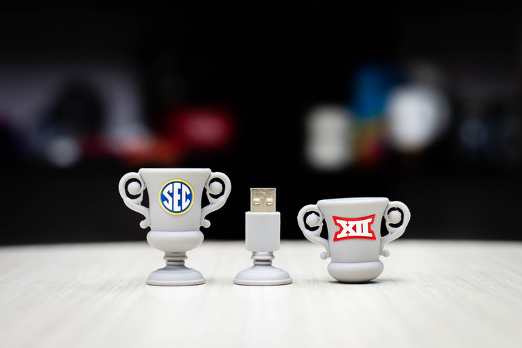 SEC Trophy USB drives