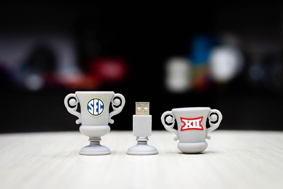 SEC Trophy USB drives