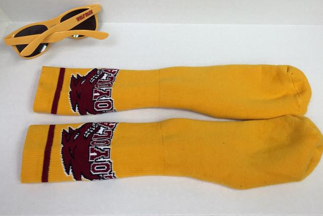 Loyola Socks