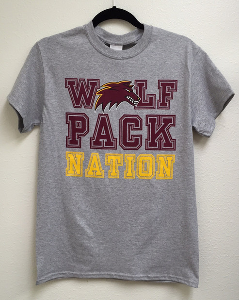 Loyola Wolf Pack Nation T-shirt