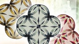 Quilt Kit - Wedding Star Table Topper in Gold Dust