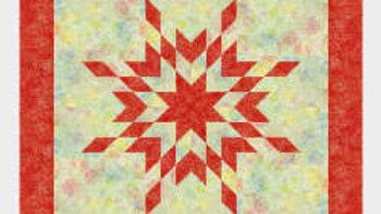 Quilt Kit - Starbaby Quilt - Cayenne 2