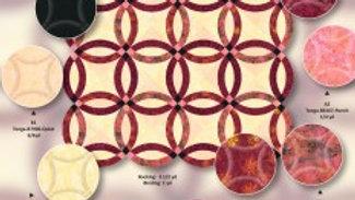 Quilt Kit - Primrose Wedding Ring