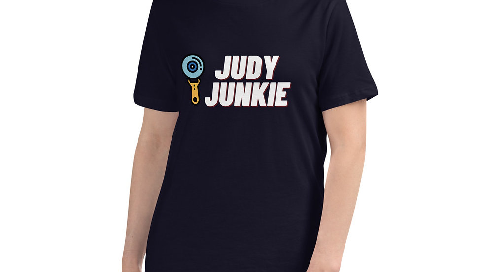 Custom Printed Women's Quilting T-Shirt - Judy Junkie