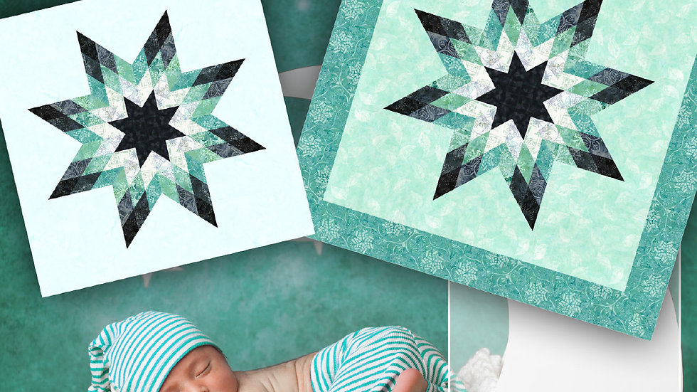 Quilt Kit - Quiltworx Starbaby Quilt