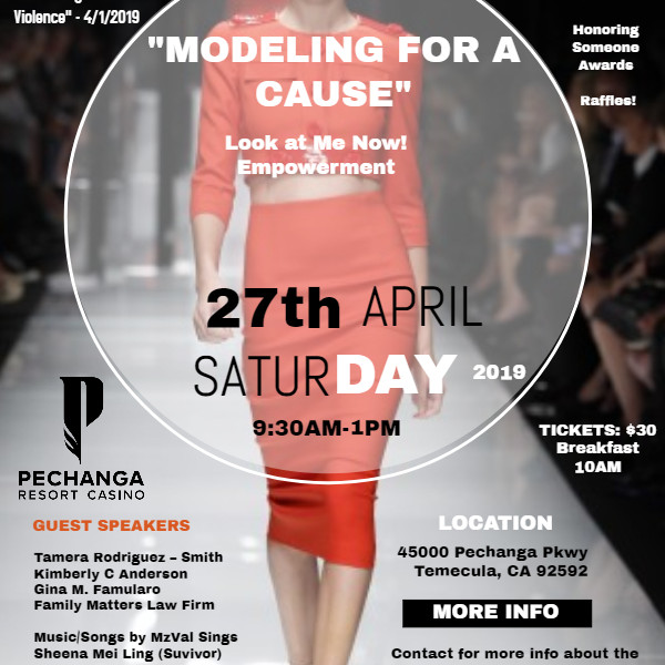 Look at Me Now!  Fashion Show - Empowerment!