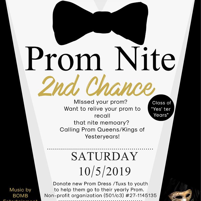 2nd Chance Prom  -  Eagle Nest Ballroom