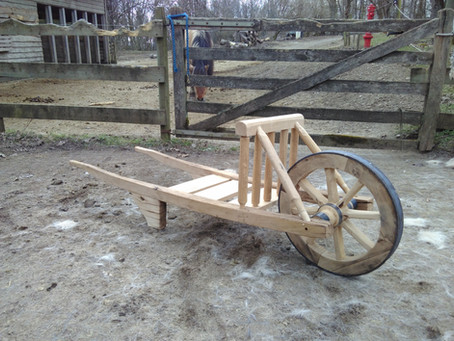 nei Schubkoar - a new camp wheelbarrow