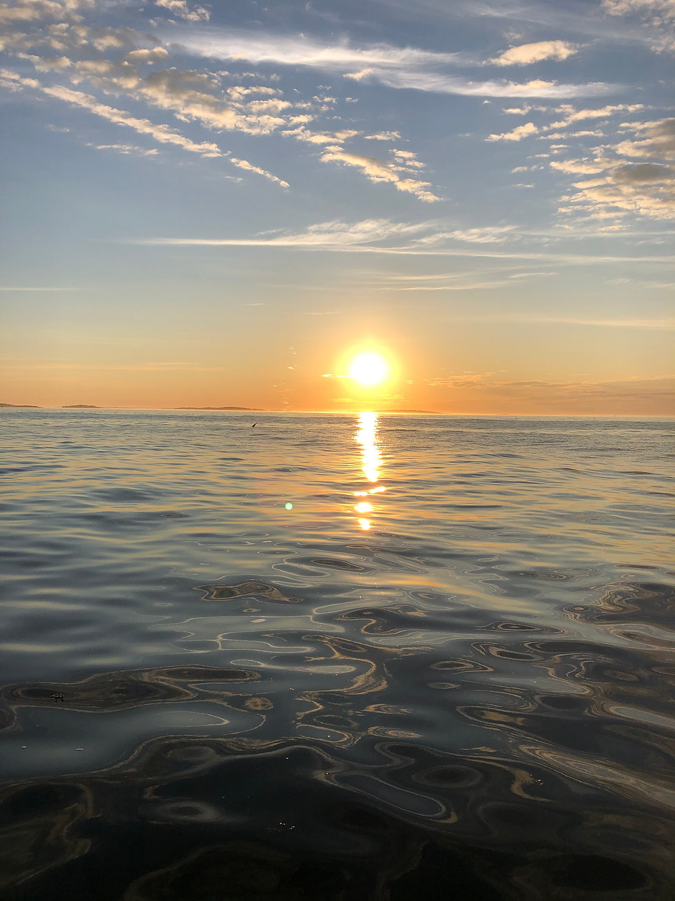 Grateful Mornings Maine Casco Bay
