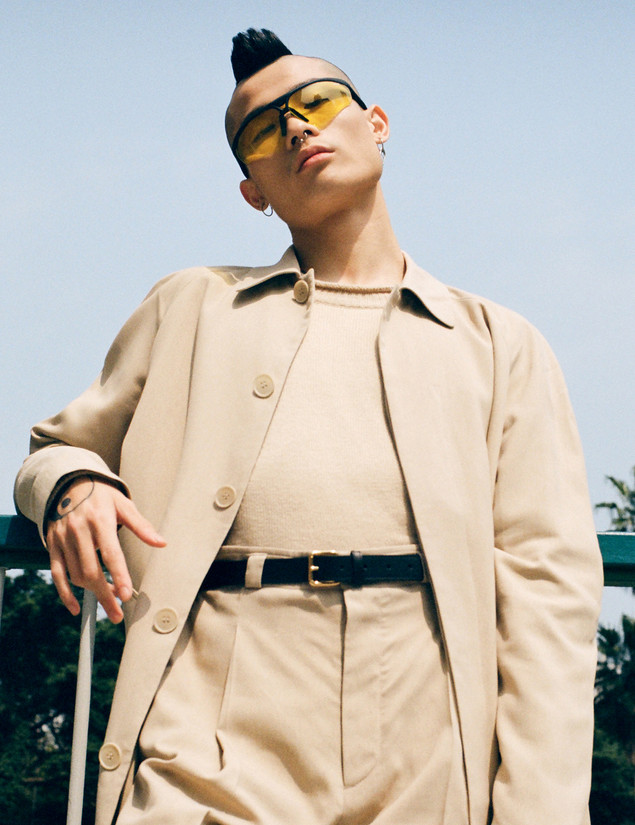 Fashion editorial styled by Kieran Ho