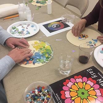Mosaic Mandala Workshop